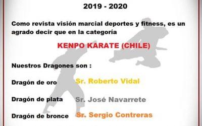 Reconocimiento revista Visión Marcial 2020